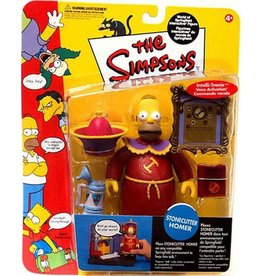 Playmates The Simpsons World of Springfield Series 10 Stonecutter Homer Figure