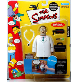 Playmates The Simpsons World of Springfield Series 6 Dr. Hibbert Figure
