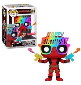 Funko Funko Pop Marvel Birthday Glasses Deadpool (Target Exclusive)