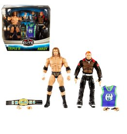 Mattle WWE Elite Collection Triple H And Jeff Hardy Action Figure 2-Pack