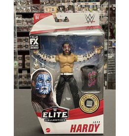 Mattel WWE Elite Collection Series 84 Jeff Hardy Action Figure (Red Paint Chase Variant)
