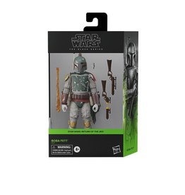 "Hasbro Star Wars: The Black Series 6"" Deluxe Boba Fett (Return of the Jedi)"