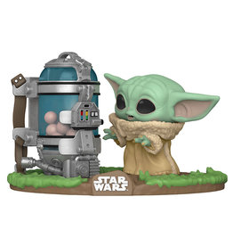 Funko Pop! Deluxe Star Wars: The Child with Egg Canister