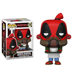 Funko Pop! Marvel: Deadpool 30th Anniversary - Coffee Barista