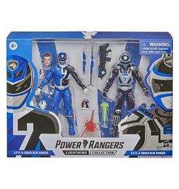 Hasbro Power Rangers Lightning Collection S.P.D. B-Squad Blue Ranger Versus A-Squad Blue Ranger 2-Pack