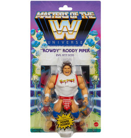 """Mattle WWE Masters Of The WWE Universe """"Rowdy"""" Roddy Piper Action Figure"""