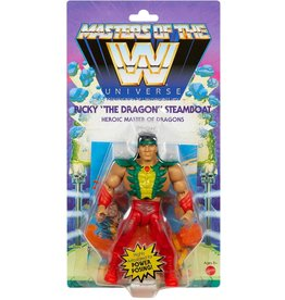 """Mattle WWE Masters of the WWE Universe  Ricky """"The Dragon"""" Steamboat  Action Figure"""