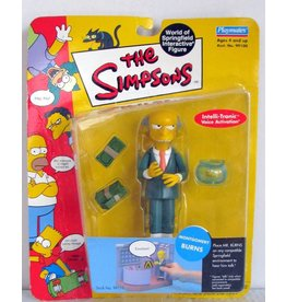Playmates The Simpsons World of Springfield Series 1 Montgomery Burns