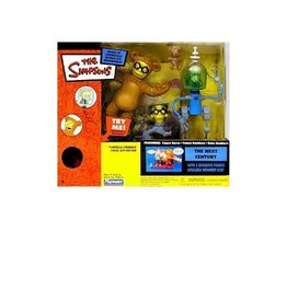 Playmates The Simpsons World of Springfield The Next Century Interactive Playset