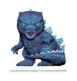 """Funko Pop! Movies: Godzilla vs. Kong - 10"""" Neon City Godzilla Exclusive"""