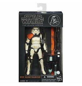 "Hasbro Star Wars The Black Series 6"" Figure Sandtrooper (Orange Line)"