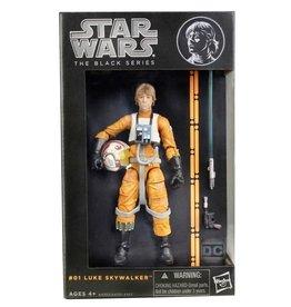 "Hasbro Star Wars The Black Series 6"" Figure Luke Skywalker (Orange Line)"