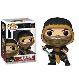 Funko Pop! Movies: Mortal Kombat (2021) - Scorpion