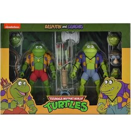 NECA NECA Teenage Mutant Ninja Turtles Rasputin and Genghis 2 Pack Exclusive