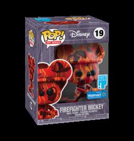 Funko Funko Pop! Artist Series: Disney Treasures of The Vault - Firefighter Mickey, Walmart Exclusive