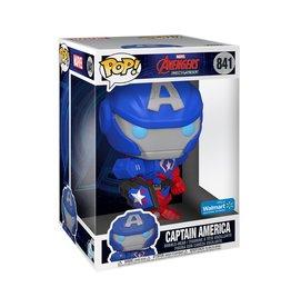Funko Funko Pop! Jumbo Marvel: Avengers Mech Strike Captain America (Walmart Exclusive)