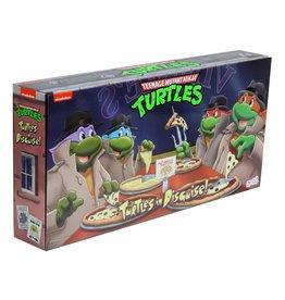 NECA NECA Teenage Mutant Ninja Turtles - Turtles in Disguise! Exclusive 4-Pack