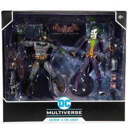 DC Comics DC Multiverse Batman Arkham Asylum Batman & The Joker (Walmart Exclusive)