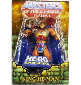 Mattle Masters Of The Universe Classics King He-Man