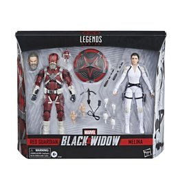 Hasbro Black Widow Marvel Legends Red Guardian & Melina Two-Pack