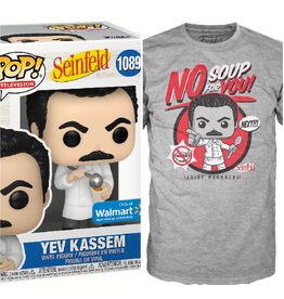 Funko Pop! Tees: Seinfeld - No Soup For You!  Funko Pop and T-Shirt (Walmart Exclusive) XL