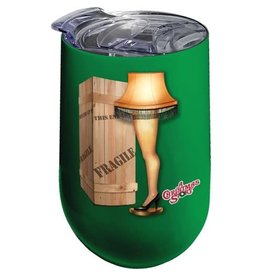 Spoontiques A Christmas Story Leg Lamp Stainless Steel 16 oz. Tumbler
