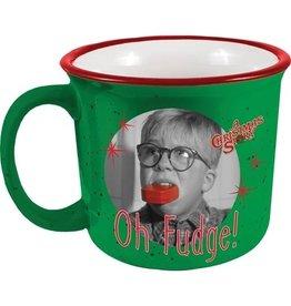 Spoontiques A Christmas Story Oh Fudge Ceramic Camper Mug