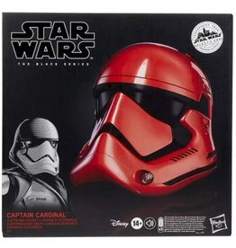 Hasbro Limited Exclusive Edition Star Wars The Black Series Galaxy's Edge Captain Cardinal Electronic Helmet