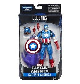 Hasbro Marvel Legends Series Captain America (Red Skull BAF)