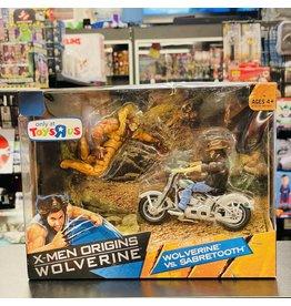 Hasbro X-Men Origins Wolverine: Wolverine Vs. Sabretooth Backroad Brawl (TRU Exlcusive)