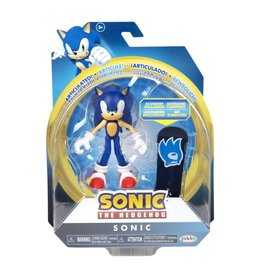Jakks Sonic the Hedgehog 4-Inch Action Figures with Accessory Wave 4 Sonic with Board