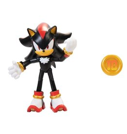 Jakks Sonic the Hedgehog 4-Inch Action Figures with Accessory Wave 4 Shadow with coin