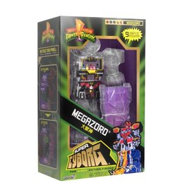 Super7 Mighty Morphin Power Rangers Super Cyborg Megazord (Clear)