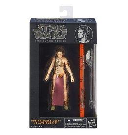 Hasbro Star Wars The Black Series Princess Leia Slave Outfit (Orange Line) Figure