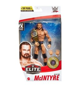 mattel WWE Top Picks 2021 Drew McIntyre Elite Action Figure