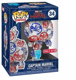 Funko Funko Art Series POP! Marvel Captain Marvel Exclusive Vinyl Figure #34 [Patriotic Age]