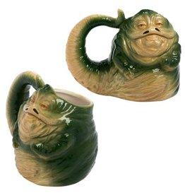 Bioworld Star Wars Jabba the Hutt 20 oz. Sculpted Mug