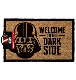Pyramid Star Wars Welcome to the Dark Side Darth Vader Door Mat