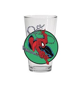 PopFun Merchandising Marvel Comics Toon Tumblers Spider-Man (#300) Pint Glass