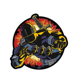 Icon Heroes G.I. Joe Snake Eyes Retro Mouse Pad