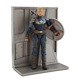 Diamond Select Toys Marvel Select Captain America The Winter Soldier Unmasked Disney Exclusive Figure
