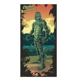 Factory Entertainment Universal Monsters - Creature From The Black Lagoon Beach / Bath Towel