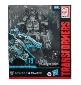 Hasbro Transformers Studio Series 73 Leader Grindor & Ravage