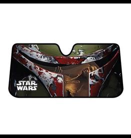 Plasticolor Star Wars Boba Fett Accordion Sunshade
