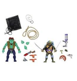 NECA NECA Teenage Mutant Ninja Turtles Slash & Leatherhead Exclusive Target 2-pack