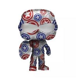 Funko Funko POP! Artist Series: Marvel Patriotic Age - Captain America (Falcon and the Winter Soldier) (Target Exclusive)