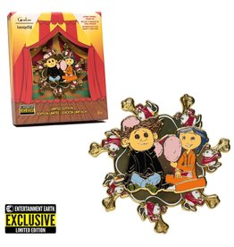 Loungefly Coraline Spinning Enamel 3-Inch Pin - Entertainment Earth Exclusive