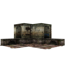 Extreme-Sets Extreme Sets-Sewer (2.0) 1/12 Scale Pop-Up Diorama