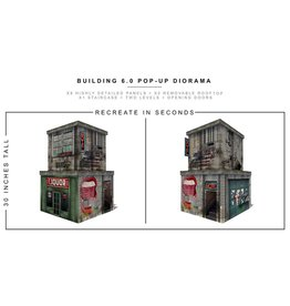 Extreme-Sets Building (6.0) 1/12 Scale Pop-Up Diorama