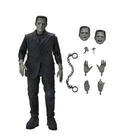 NECA 7-inch Scale Action Figure – Ultimate Frankenstein's Monster (B&W)